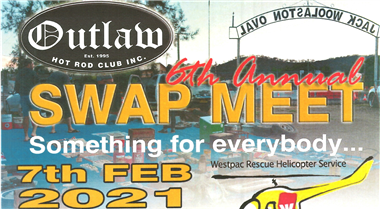 Tamworth Swap Meet hosted by Outlaw Hot Rod Club Inc