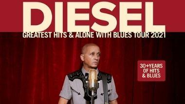 DIESEL GREATEST HITS & ALONE WITH BLUES