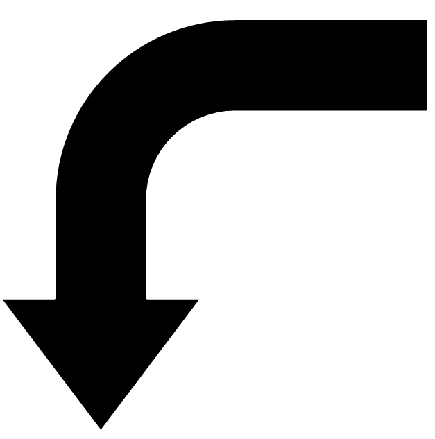 arrow down left