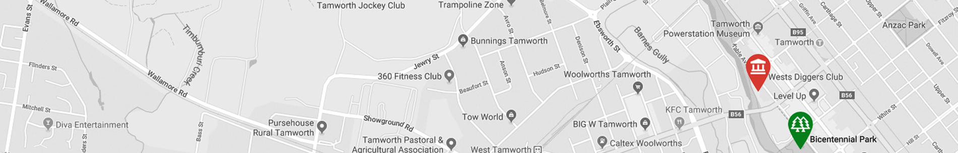 Tamworth Map